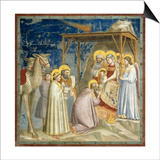 Adoration of the Kings, c.1303-10 Posters by  Giotto di Bondone