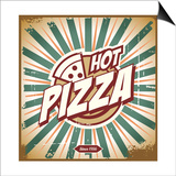 Vintage Pizza Sign Posters by  Lukeruk