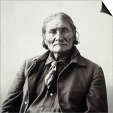 Geronimo (1829-1909) Prints by Adolph F. Muhr