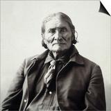 Geronimo (1829-1909) Prints by Adolph F. Muhr