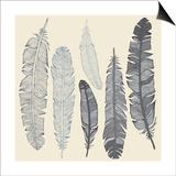 Feather Set Prints by  Katyau