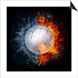 Volleyball Ball Prints by  RaStudio