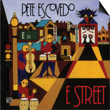 Pete Escovedo - E-Street Print