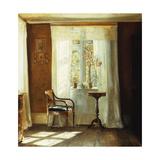 Fensterplatz Im Hause Des Kuenstlers in Lyngby Prints by Carl Holsoe