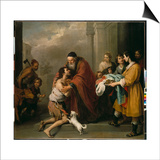 The Return of the Prodigal Son, 1667/70 Posters by Bartolomé Estéban Murillo