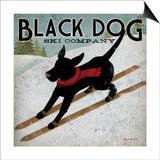 Ryan Fowler - Black Dog Ski Plakát