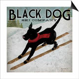 Ryan Fowler - Black Dog Ski - Poster