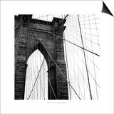 Brooklyn Bridge II Poster by Laura Denardo