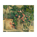 Still Life with Petunias, about 1885 Prints by Paul Cézanne