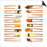 Sushi And Chopsticks Posters by Rob Tek