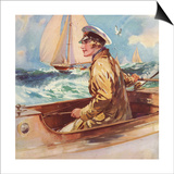 Woman in Boat, 1939, UK Posters