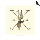 Polo Saddle Print by  Vision Studio