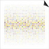 Multicolored Dot Background Poster by  katritch