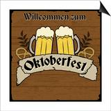 Oktoberfest Retro Poster Prints by  radubalint