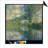 Poplars on the Epte Poster by Claude Monet