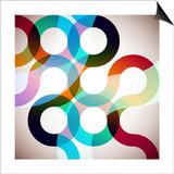 Rainbow Circles Posters by  VolsKinvols