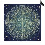 Vintage Zodiac Constellation Of Northern Stars Posters by Alisa Foytik