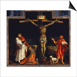 Isenheimer Altar. First Right Side, Centre Panel: Crucifixion Posters by Matthias Grünewald