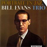 Bill Evans Trio - Portrait in Jazz Prints by Paul Bacon