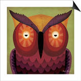 Owl Wow Posters by Ryan Fowler