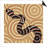 Aboriginal Abstract Art Posters by  Piccola