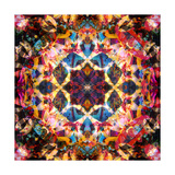 Colorful Night Mandala Photographic Print by Alaya Gadeh