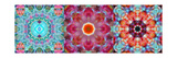 Mandala Tryptich IV Photographic Print by Alaya Gadeh