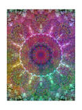 Multicolor Energy Photographic Print by Alaya Gadeh