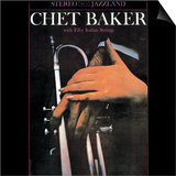 Chet Baker - With Fifty Italian Strings Posters