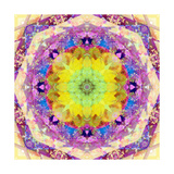 Center Sun Mandala Photographic Print by Alaya Gadeh