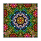 Mystic Blossom Mandala Photographic Print by Alaya Gadeh