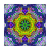 Flower Mandala Ornament II Posters by Alaya Gadeh