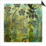 Art Vintage Floral Background Pattern Prints by Irina QQQ