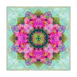 Magical Mandala Blossom Photographic Print by Alaya Gadeh