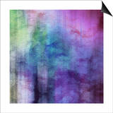 Art Abstract Watercolor Background On Paper Texture In Light Violet And Pink Colors Prints by Irina QQQ