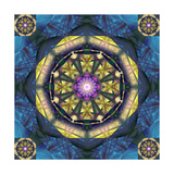 Night Sky Mandala Photographic Print by Alaya Gadeh