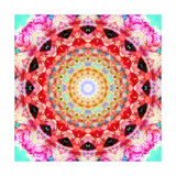 Rose Mandala 2 Photographic Print by Alaya Gadeh