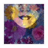 Flower Face Purple Photographic Print by Alaya Gadeh