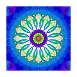 Ocean Temple Mandala Art by Alaya Gadeh