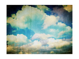 Vintage Sky With Clouds Photographic Print by Alaya Gadeh