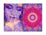 Dyptich With Mandala Prints by Alaya Gadeh