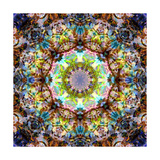 Flower & Hair Mandala Blossom IV Photographic Print by Alaya Gadeh