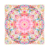Watercolor Mandala Photographic Print by Alaya Gadeh