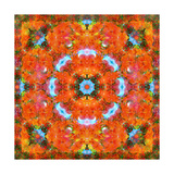 Orange Blossom Mandala III Photographic Print by Alaya Gadeh