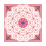 Rose Moon Mandala Posters by Alaya Gadeh