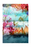 Flower Ocean Photographic Print by Alaya Gadeh