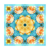 Bright Summer Day Mandala Photographic Print by Alaya Gadeh