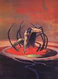 Spider and Man Posters by Frank Frazetta