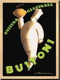 Buitoni, 1928 Stretched Canvas Print by Federico Seneca