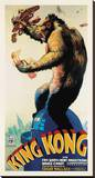 King Kong Reproduction transférée sur toile